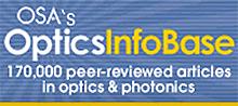 OSA's Optics InfoBase